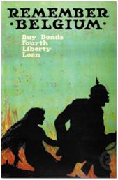 American World War I Liberty Bonds poster