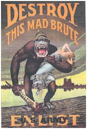 American World War I recruitment poster